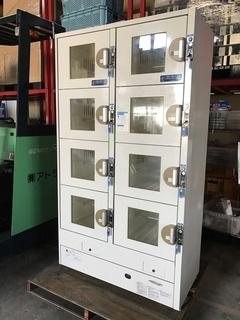 フクシマ製 冷蔵コインロッカー